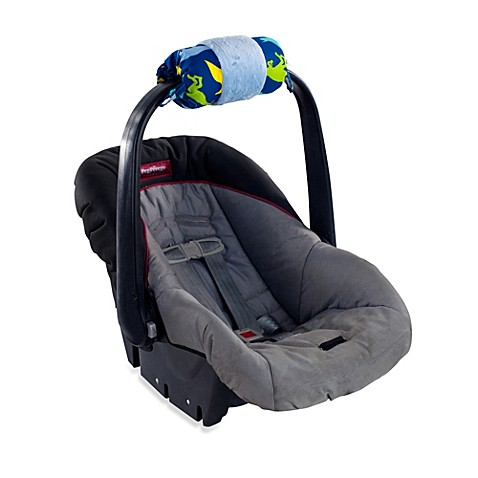 buy itzy ritzy wrap infant car seat handle cushion in dino mite from bed bath beyond. Black Bedroom Furniture Sets. Home Design Ideas