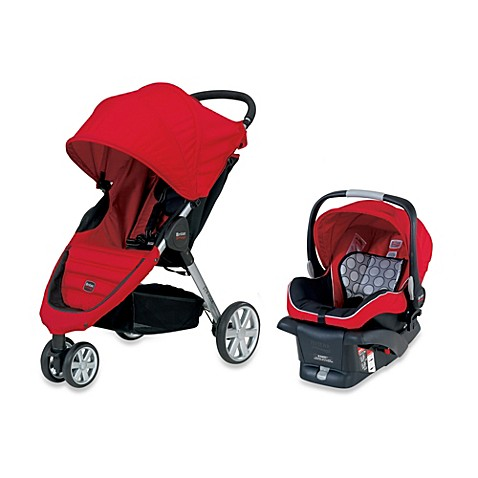 B Agile Travel System Red