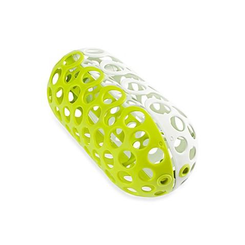 Boon CLUTCH Dishwasher Basket in White/Green | Tuggl