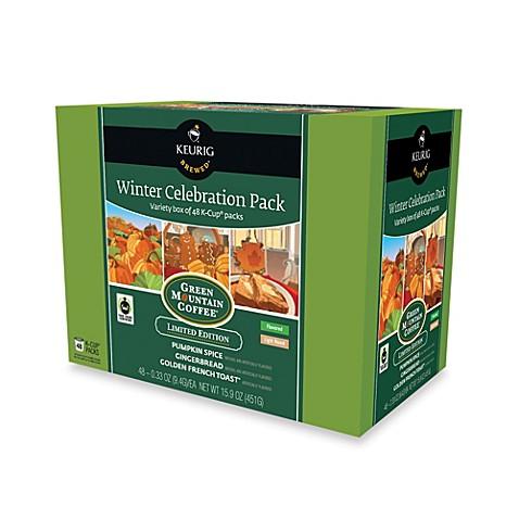 keurig 48count winter celebration kcup variety pack