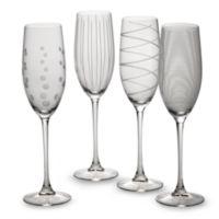 Mikasa® Cheers 8 oz. Toasting Flutes (Set of 4)