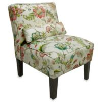 Skyline Furniture Armless Chair in Brissac Jewel