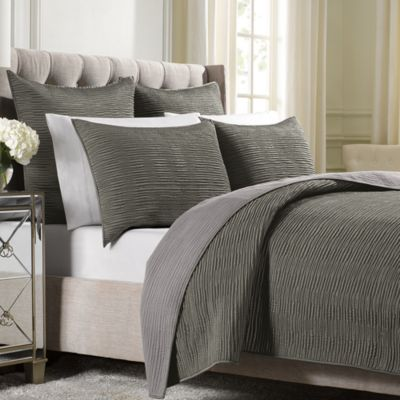 Wamsutta® Serenity Twin Coverlet In Mink