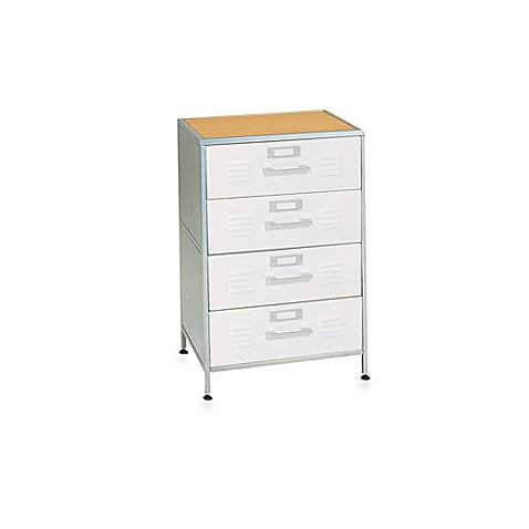 American Furniture Alliance 4 Drawer Locker Dresser Bed