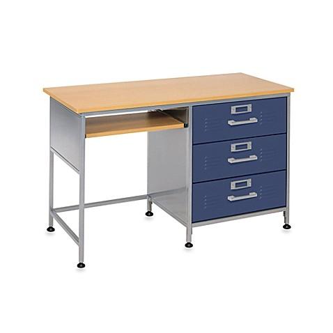 American Furniture Alliance 3 Drawer Locker Desk