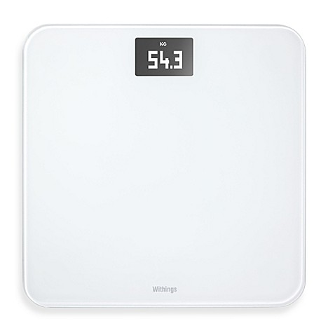 Withings Wireless Bathroom Scale In White