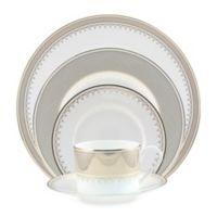 Nikko Lattice Gold 5-Piece Dinnerware Set
