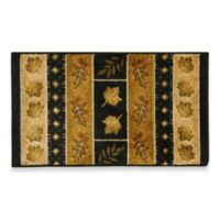 Bacova Southview 2-Foot 6-Inch x 3-Foot 9-Inch Area Rug in Gold/Black