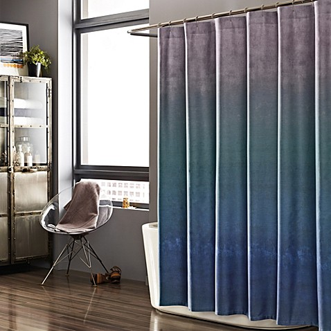 Kenneth Cole Reaction Home 72 Inch X 72 Inch Shower Curtain In Haze