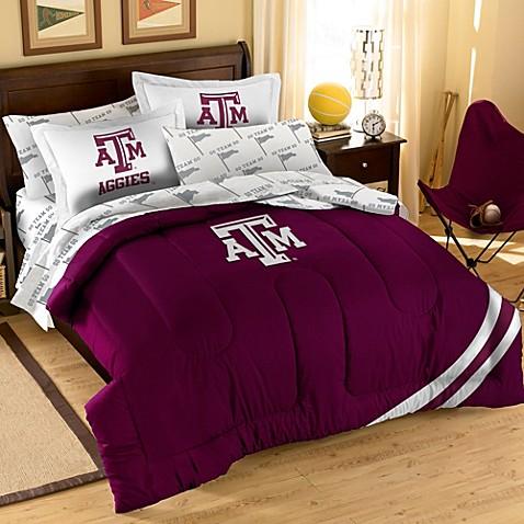 Texas A Amp M Full Applique Bedding Set Bed Bath Amp Beyond