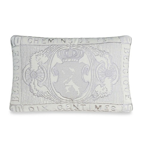 upstairs by Dransfield & Ross Antigua Oblong Throw Pillow - Bed Bath & Beyond
