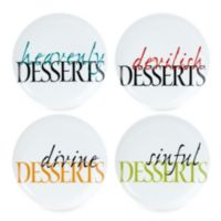 Fitz and Floyd® Color Dessert Plates (Set of 4)