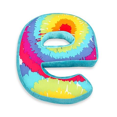 One Grace Place Terrific Tie Dye Decorative Letter Quot E