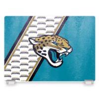 NFL Jacksonville Jaguars Tempered Glass Cutting Board
