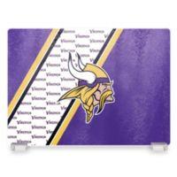 NFL Minnesota Vikings Tempered Glass Cutting Board