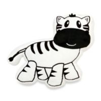 One Grace Place Jazzie Jungle Boy Zebra Pillow