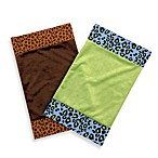 One Grace Place Jazzie Jungle Burp Cloths