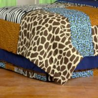 One Grace Place Jazzie Jungle Twin Bed Skirt