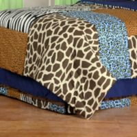 One Grace Place Jazzie Jungle Full Bed Skirt