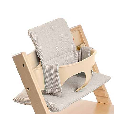 buy stokke tripp trapp cushion in gray loom from bed. Black Bedroom Furniture Sets. Home Design Ideas