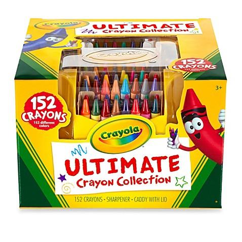 crayola 152 count ultimate crayon case   buybuy baby