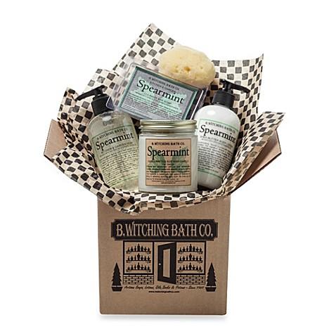 B. Witching Bath Co. Spearmint Kitchen & Garden Gift Set ...