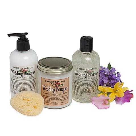 B. Witching Bath Co. Wedding Bouquet Bath & Body Gift Set ...