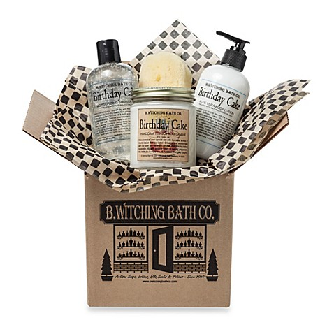 B. Witching Bath Co. Birthday Cake Gift Set - Bed Bath ...