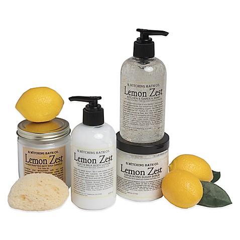 B. Witching Bath Co. Lemon Zest Kitchen & Garden Gift Set ...