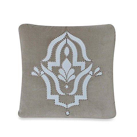 upstairs by Dransfield & Ross Madrigal 20-Inch Square Throw Pillow - Bed Bath & Beyond