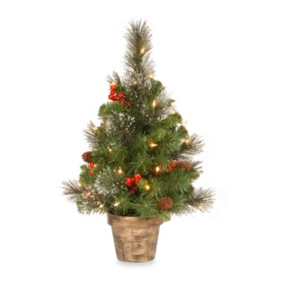 Buy White Lit Trees from Bed Bath & Beyond