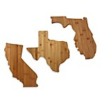 Totally Bamboo State Shaped Cutting/Serving Board