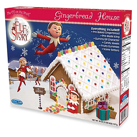 The Elf on the Shelf® An Elf's Story™ Pre-Baked Gingerbread House Kit