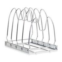 Iris USA™ Chrome Cookware Organizer