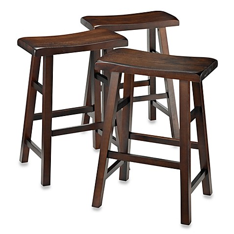 Buy Parker 24 Inch 3 Piece Saddle Stool Set From Bed Bath