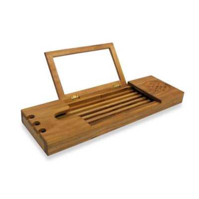 Merveilleux Product Image For Teak Bathtub Caddy 3 Out Of