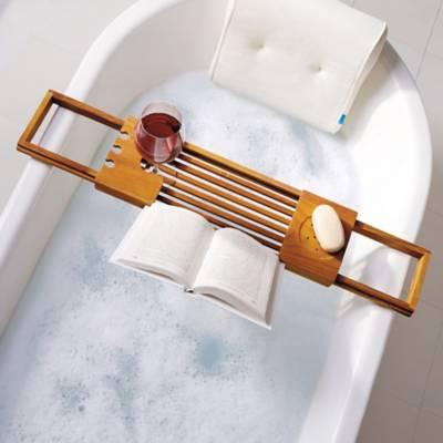 Teak Bathtub Caddy - Bed Bath & Beyond