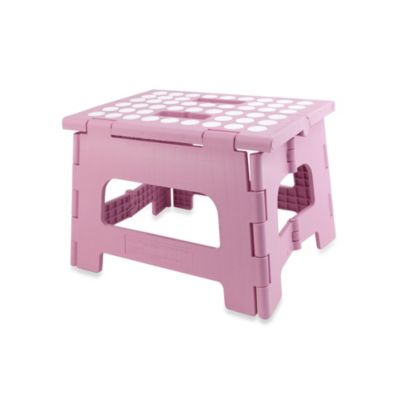 Step Stools u003e Kikkerland® Rhino II Folding Stool in Pink  sc 1 st  buybuy BABY & Pink Step Stool from Buy Buy Baby islam-shia.org