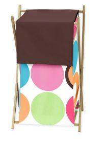Sweet Jojo Designs Deco Dot Laundry Hamper