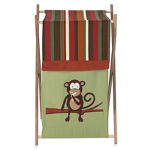 Buy sweet jojo designs monkey laundry hamper from bed bath beyond - Monkey laundry hamper ...