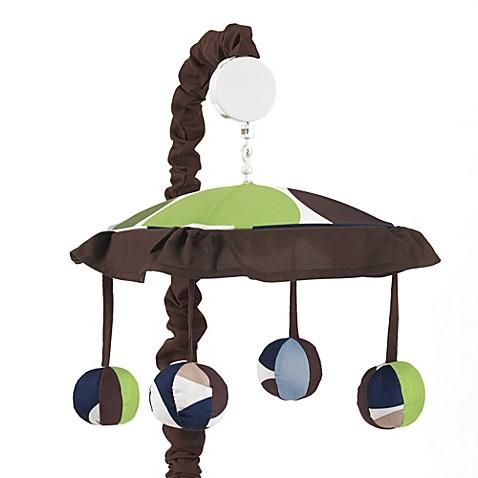 Sweet jojo designs designer dot musical crib mobile bed bath beyond - Designer babymobel ...