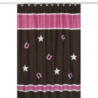 Sweet Jojo Designs Cowgirl Collection Shower Curtain
