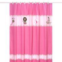 Sweet Jojo Designs Jungle Friends Collection Shower Curtain