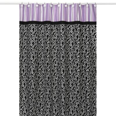 Amazing Black And Purple Shower Curtain Pictures - Best Image ...