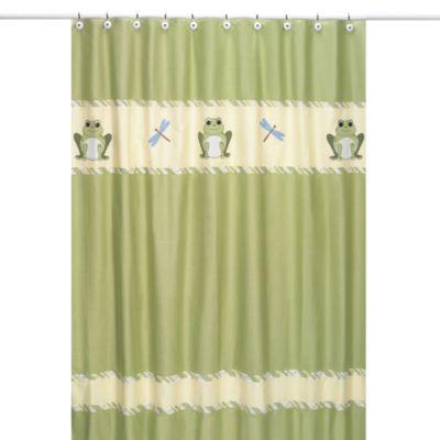 Sweet Jojo Designs Leap Frog Shower Curtain