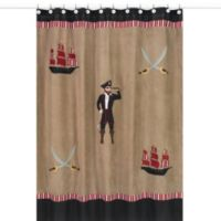 Sweet Jojo Designs Pirate Treasure Cove Shower Curtain