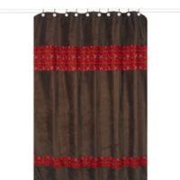 Sweet Jojo Designs Wild West Cowboy Shower Curtain in Brown