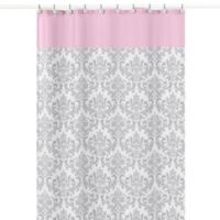Buy Pink And White Curtains Bed Bath Beyond
