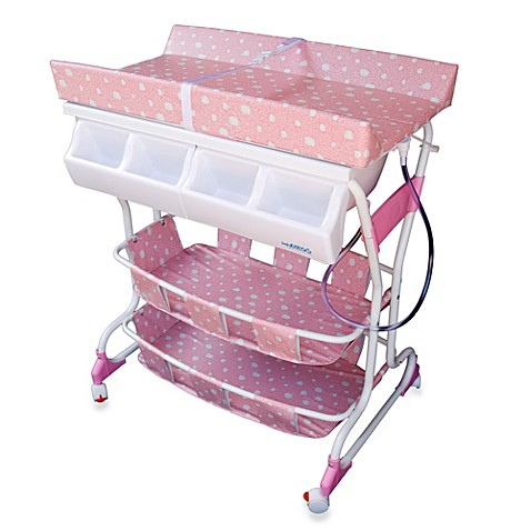 Pink Changing Table