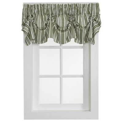 Fresh Buy Striped Valances for Windows from Bed Bath & Beyond KG23